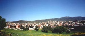 Panorama di Sinnai